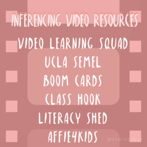 Inferencing Video Resources