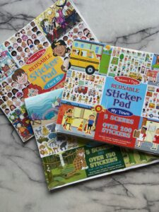 Pediatric Therapy Idea | Sticker Pads